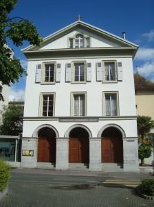 Kirche Vevey f. Flyer