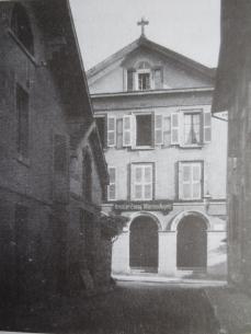 Kirche der deutschsprachigen Kirchgemeinde Vevey 1925