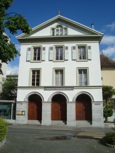 Lirche der deutschsprachigen Kirchgemeinde in Vevey