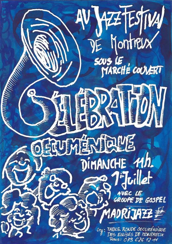 Pub Célébration oec au Jazz Festival 2018